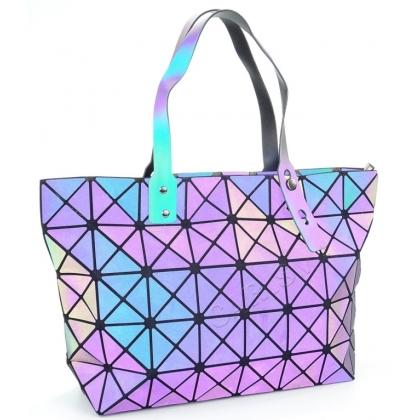 Луминисцентна геометрична чанта 54К-1