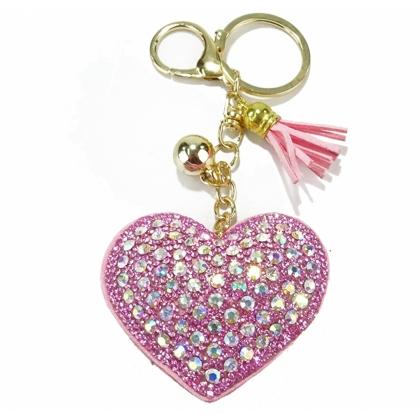 Висулка Розово Сърце, 0101-5