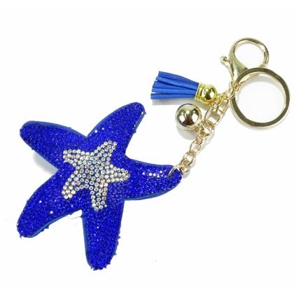 Ефектен ключодържател Синя звезда, 0101-6
