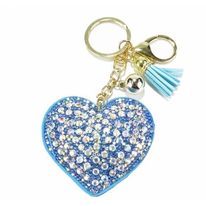 Аксесоар за чанта Синьо Сърце, 0101-10