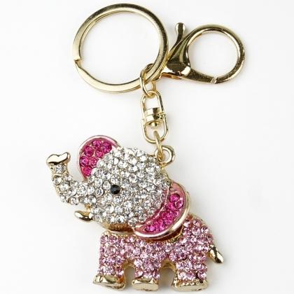 Дамски ключодържател Слон