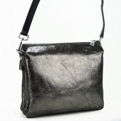 Черна чанта през рамо, Графит, 720