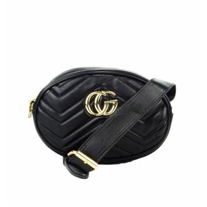 Черна чанта за кръст, 34-2