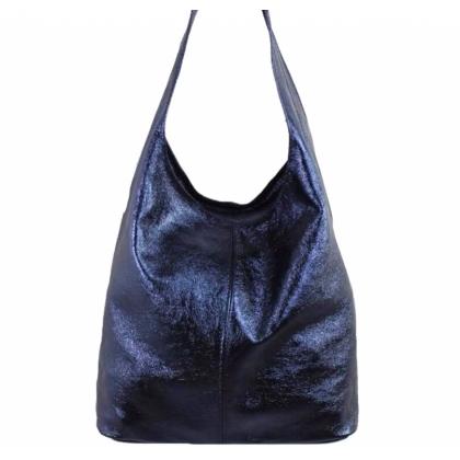 Синя чанта тип торба,1394-2