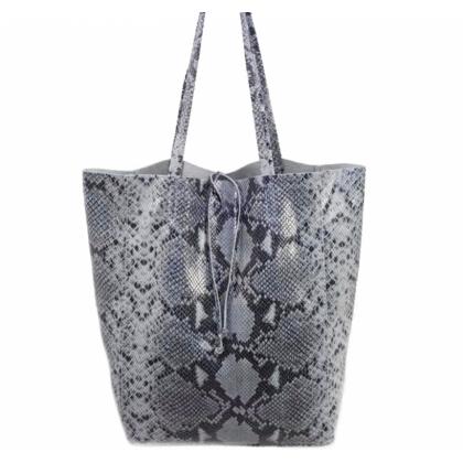 Чанта тип торба, Змийски Принт, 1666-13