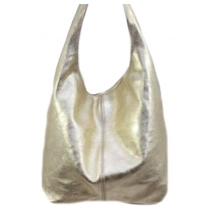 Златна дамска чанта