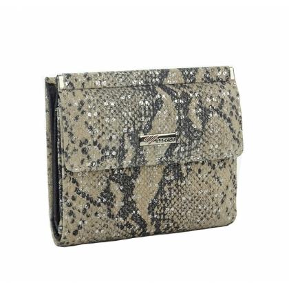 Компактно дамско портмоне от естествена кожа 1399-6