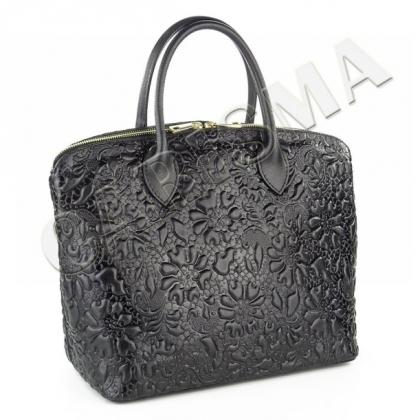 Дамска чанта от естествена кожа, 16664L