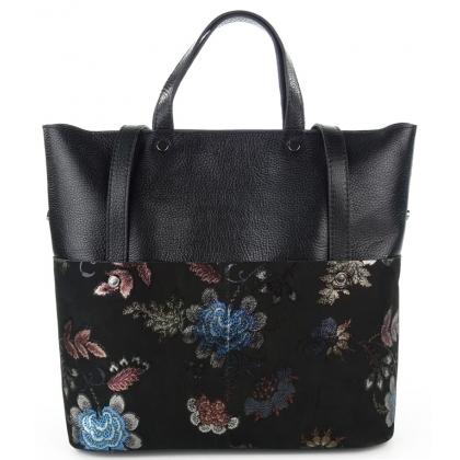Черна елегантна чанта