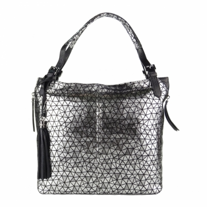 Елегантна кожена чанта