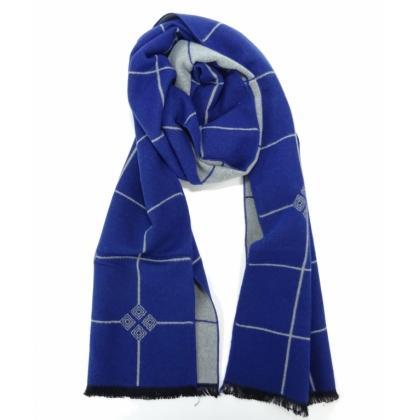 Кариран мъжки шал