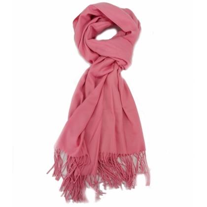 Розов дамски шал, 009