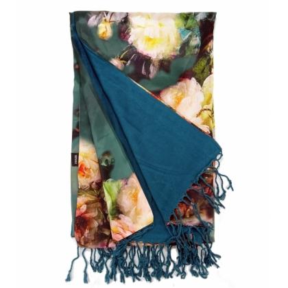 Дамски правоъгълен шал