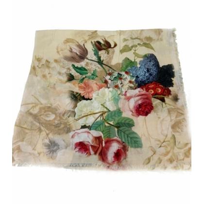 Тънък памучен шал