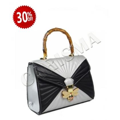 Двуцветна дамска чанта 3110-5
