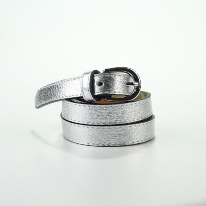Дамски сребърен колан, Vera Pelle, 818-4