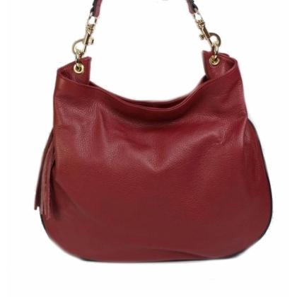 Червена дамска чанта, Тъмночервена, 1060