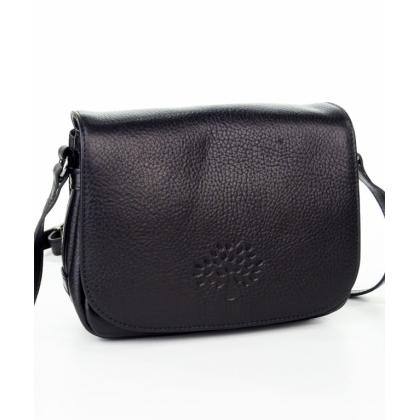 Черна малка чанта през рамо, 4847
