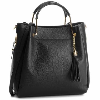 Дамска кожена чанта 2 в 1 с органайзер 11533-4
