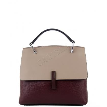 Стилна дамска чанта от кожа