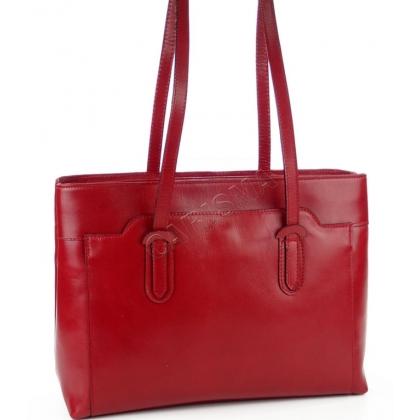 Тъмночервена дамска чанта, Дамска бизнес чанта, I12223-1
