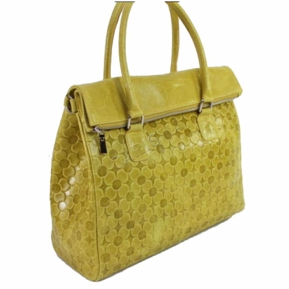Италианска чанта от естествена кожа