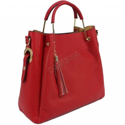 Дамска кожена чанта, 100 естествена кожа