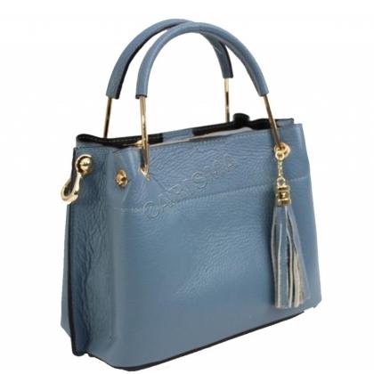 Италиански дамски чанти от естествена кожа