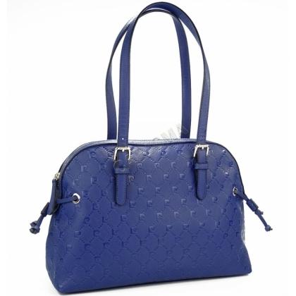 Дамска чанта Pierre Cardin от еко кожа, Тъмносин цвят, P2219