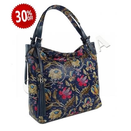 Елегантна дамска чанта от естествена кожа 1243-1