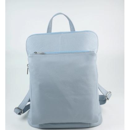 Кожена раница чанта