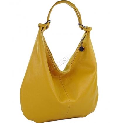 Чанта тип торба от естествена кожа 1393L-1