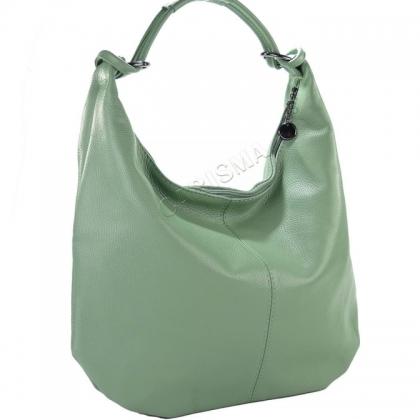 Дамска кожена чанта тип торба 1393L
