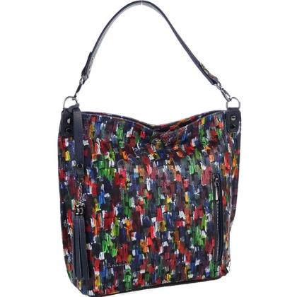 Дамска чанта от естествена кожа, На четки, 1345T-5