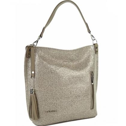 Дамска чанта тип торба от естествена кожа 1345T-7