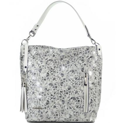 Сребърна дамска чанта