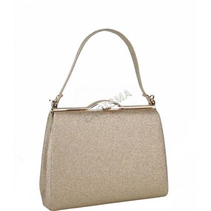 Официална бална дамска чанта с брокат