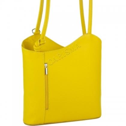 Дамска чанта-раница от естествена кожа 100118-10
