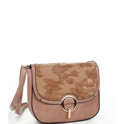 Малка чанта от еко кожа с капак 0262L-1