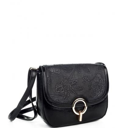 Малка чанта от еко кожа с капак 0262L-2