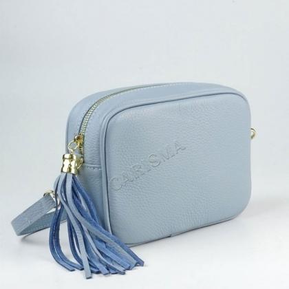 Малки дамски чанти от естествена кожа