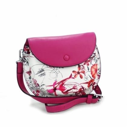 Малка дамска чанта Фуксия