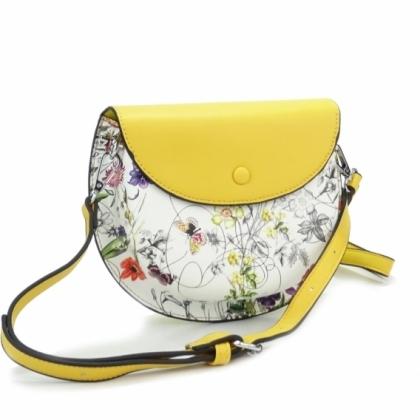 Жълта малка чанта