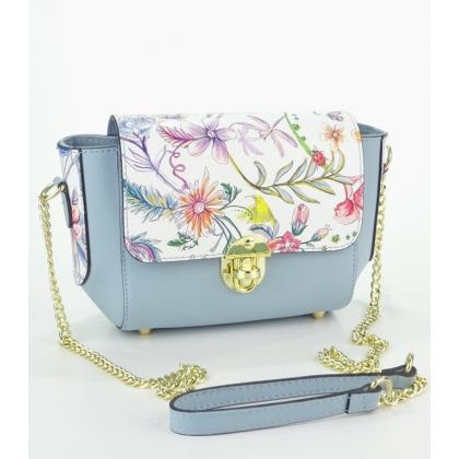 Дамска чанта от естествена кожа  19473-2