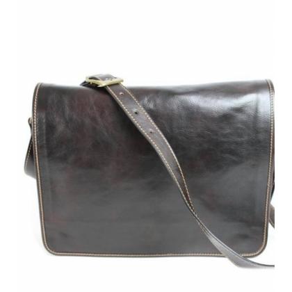 Кафява бизнес чанта