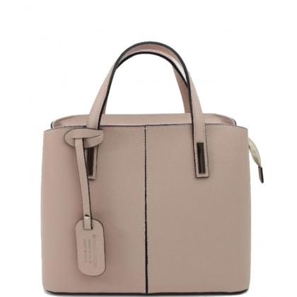 Дамска чанта пудра