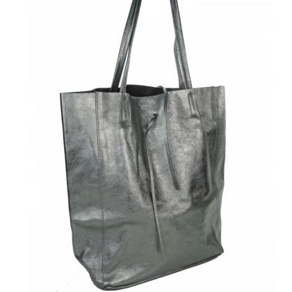 Дамска чанта от естествена кожа,1666-11