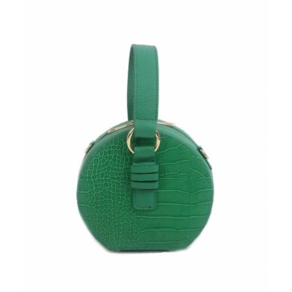 Зелена малка чанта