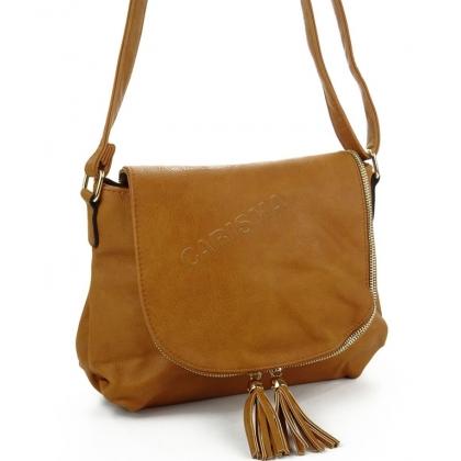 Дамска чанта за през рамо от еко кожа
