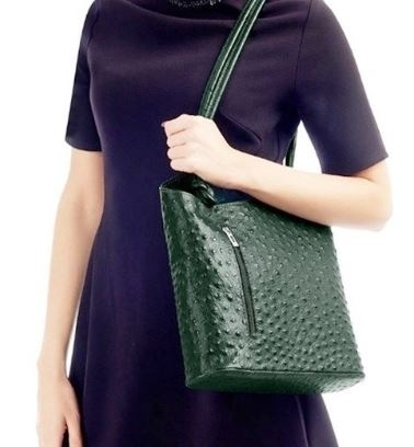 Италианска кожена чанта